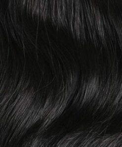 Jet Black Clip In hair Extension
