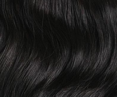 Jet Black Clip In hair Extension