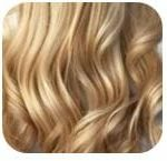 Ash Blonde Clip In Hair Extension