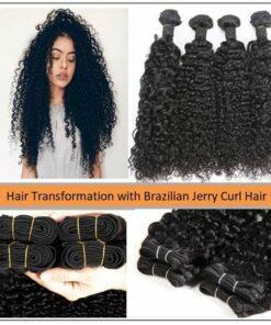 Brazilian Jerry Curl Hair Bundles 1