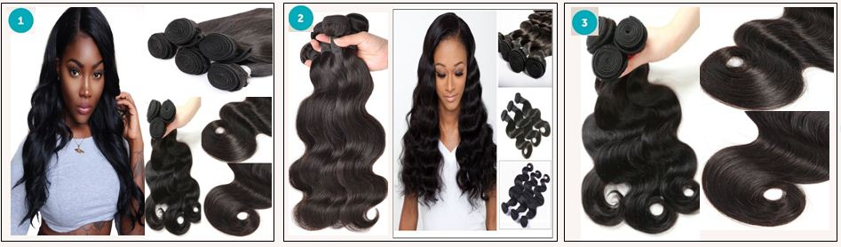 16 18 20 Inch Brazilian Body Wave