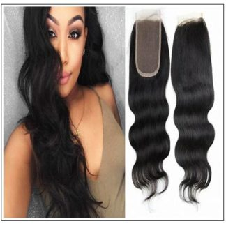 Brazilian Body Wave Bundles With Closure img 1