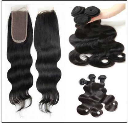 Brazilian Body Wave Bundles With Closure img 2