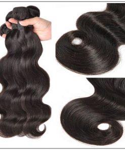 Brazilian Body Wave Hair 3 Bundles With Closure img 3
