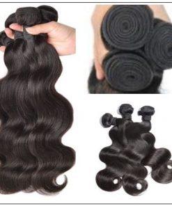 Cheap brazilian body wave hair bundle