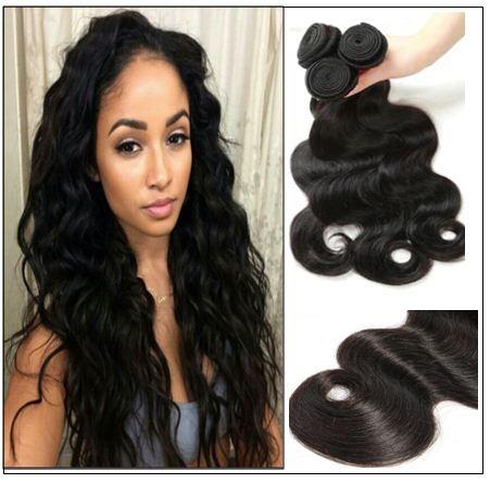 Cheap brazilian body wave hair bundles-40% OFF