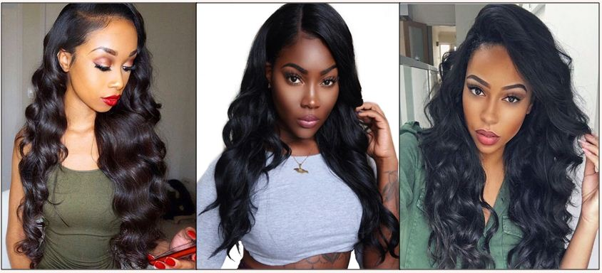 Brazilian body wave bundles with closure IMG