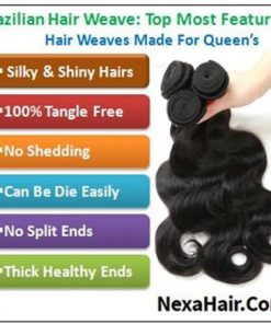 Brazilian body wave hair 3 bundles with closure img 4