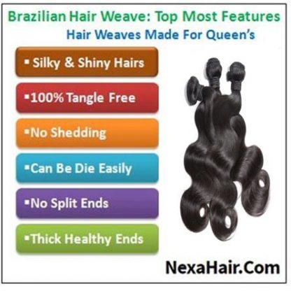 Brazilian remy hair body wave img 4