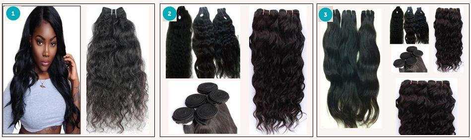 Raw Indian Wavy Hair-Natural Wavy Hair