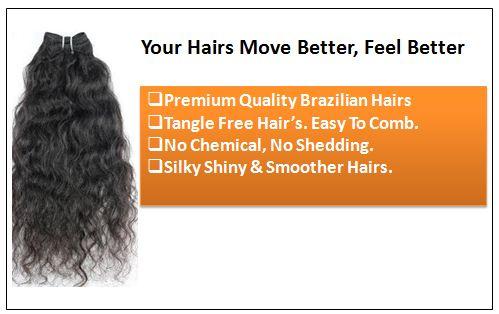 Raw Indian Wavy Hair-Natural Wavy Hair1