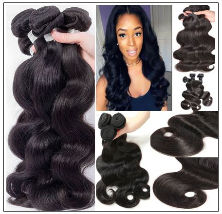 remy brazilian body wave hair img 2