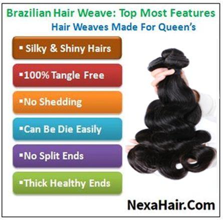 virgin brazilian body wave hair img 4