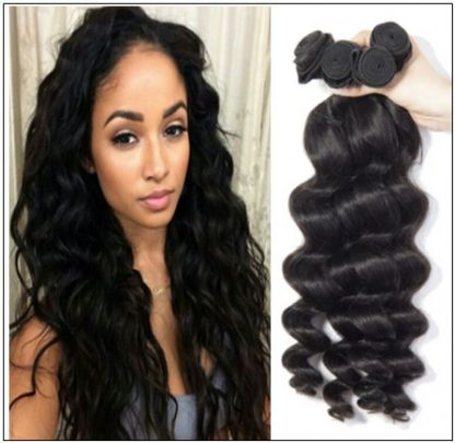14 inch loose wave weave img 1