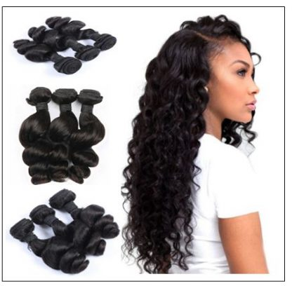 14 inch loose wave weave img 3
