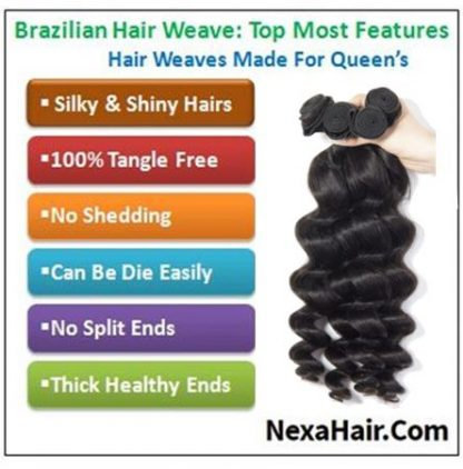 14 inch loose wave weave img 4