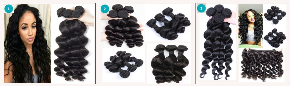 14 inch loose wave weave