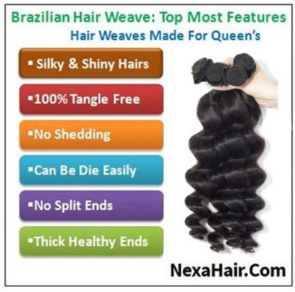 16 inch loose wave weave img 4