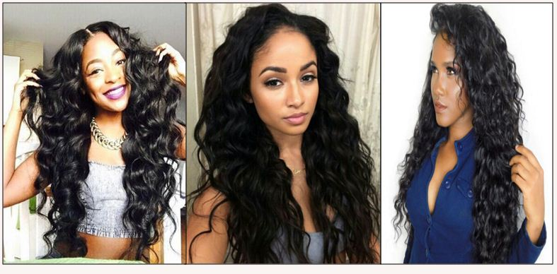16 inch loose wave weave img