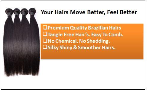 Brazilian Straight Hair Bundles For Sale 1