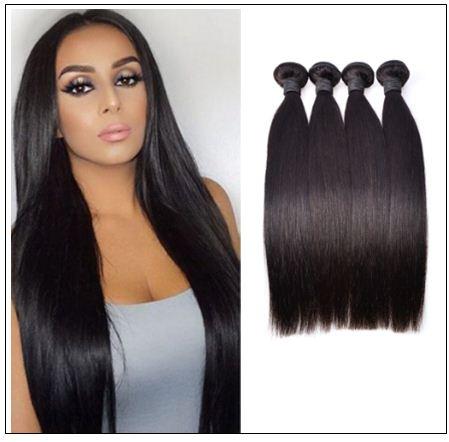 Brazilian Straight Hair Bundles For Sale img 1