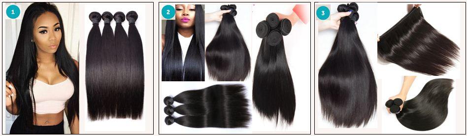 Brazilian Straight Hair Bundles For Sale