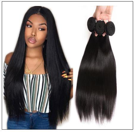 Human Hair Bundles Straight IMG 1