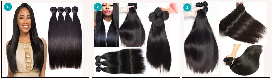 Human Hair Bundles Straight