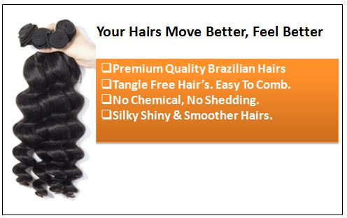 Loose Wave Remy Hair Weave 1