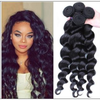 Loose Wave Remy Hair Weave img 1
