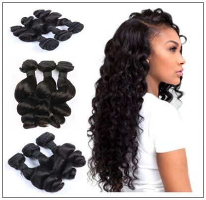 Loose Wave Remy Hair Weave img 3