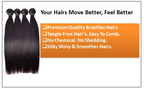 brazilian straight hair bundles 1
