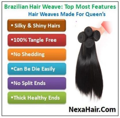brazilian straight hair bundles img 4