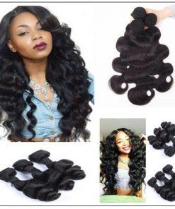 loose body wave weave human hair img 2