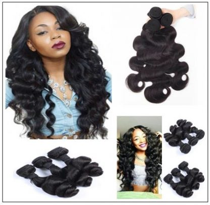 loose body wave weave human hair img 2