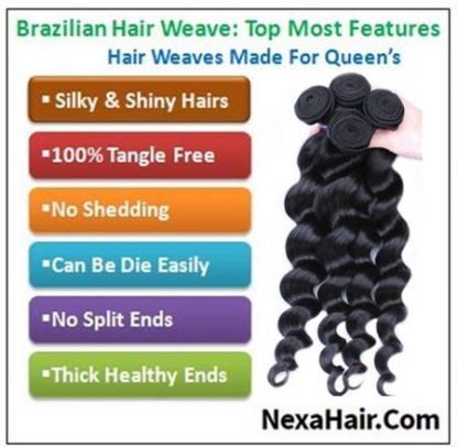 loose body wave weave human hair img 4