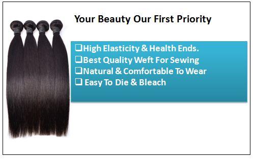 12 inch straight human hair weave 2