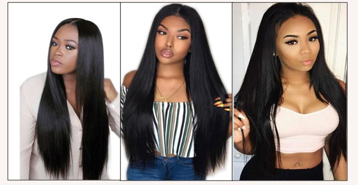 12 inch straight human hair weave img