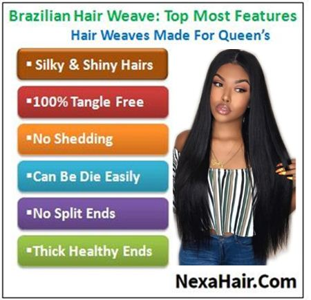 18 inch human hair straight weave img 4