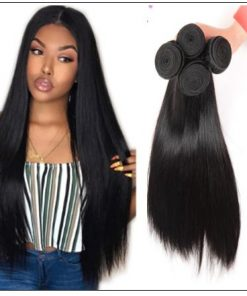2 bundles of brazilian straight hair img 2