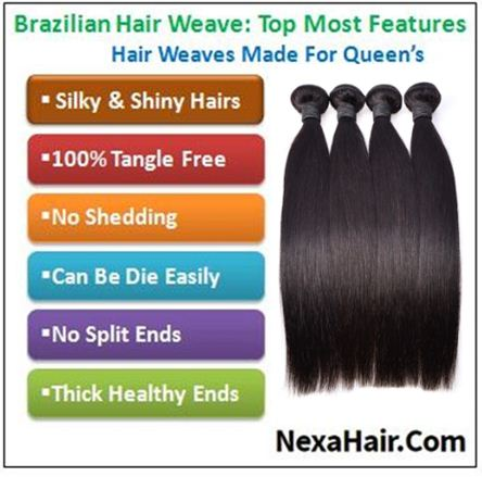 30 inch straight hair weave img 4