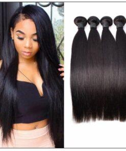 4 bundles of brazilian straight hair img 1