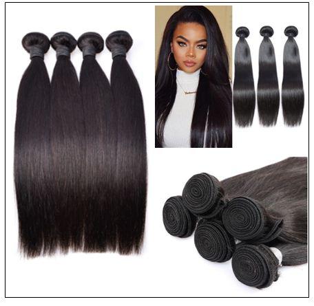 4 bundles of brazilian straight hair img 2