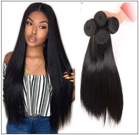 4 bundles of brazilian straight hair img 3