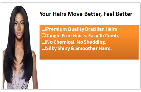 Straight Brazilian Hair Weave 1
