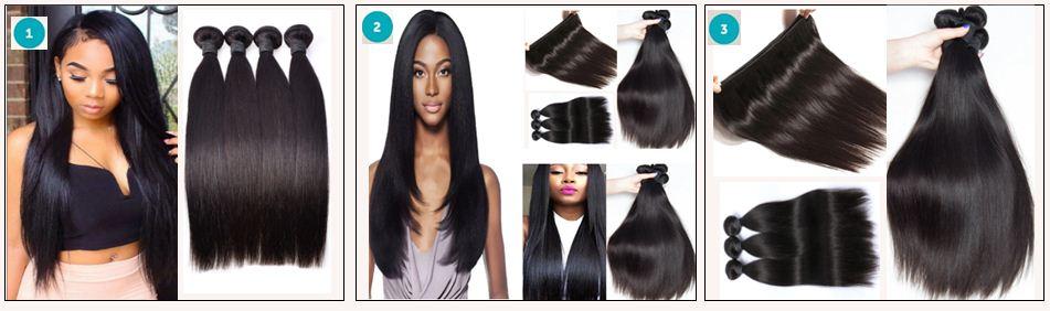 Straight Brazilian Hair Weave
