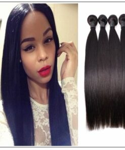 brazilian straight hair weave bundles img 1