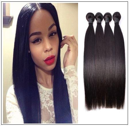 brazilian straight hair weave bundles img 1