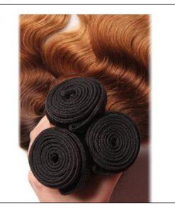 3 Bundle Ombre Indian Virgin Body Wave Hair Weave img 2