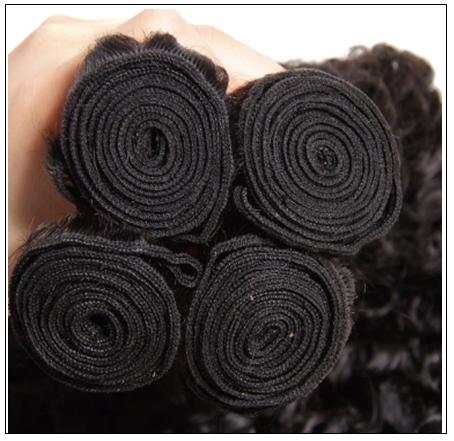 3 Bundles Brazilian Jerry Curly Hair Weave Remy Human Hair img 3